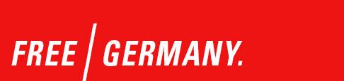 Free Germany | Rechtsbeugungen & Justizwillkür. Logo